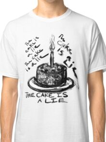 The Cake is a Lie Classic T-Shirt