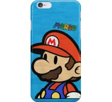 Mario T iPhone Case/Skin