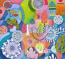 Garden Bird by Janet Broxon