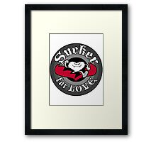 Sucker For Love Framed Print