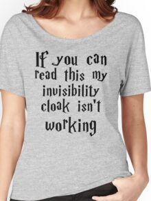 Invisibility cloak clothing Women's Relaxed Fit T-Shirt