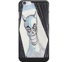Blue Devil iPhone Case/Skin