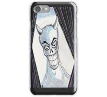 Blue Devil iPhone Case/Skin