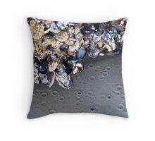 Beautiful Barnacles Throw Pillow