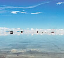 Salt Lakes. by bulljup