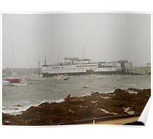 Ferries still grounded Poster