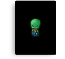 Chibi Martian Manhunter Canvas Print