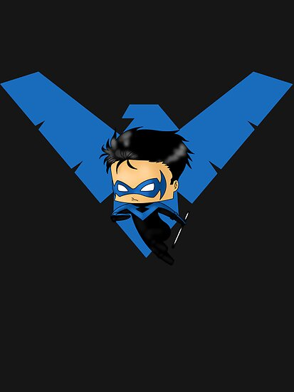 Chibi Nightwing by artwaste