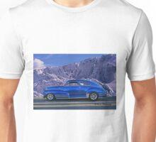 Custom Blue Street Rod at the Glacier in Whistler Unisex T-Shirt