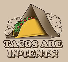 Tacos are In-Tents! Photographic Print