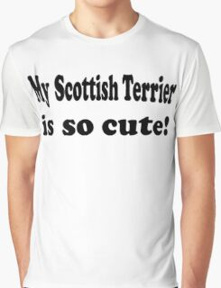 Scottish Terrier Graphic T-Shirt