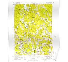 USGS TOPO Map New Hampshire NH Ayers Village 329471 1955 24000 Poster