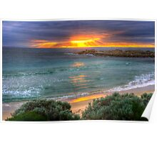Sunrise at Boat Harbour Poster