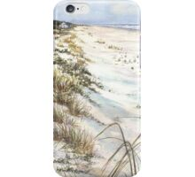 Morning Shadows on the Beach iPhone Case/Skin
