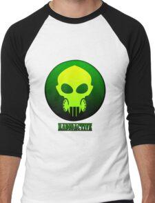 Radioactive Mask Men's Baseball ¾ T-Shirt
