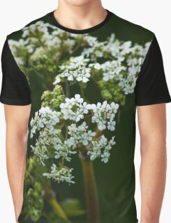Green Floral Beauty Graphic T-Shirt