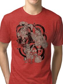Ancient Jazztecs Tri-blend T-Shirt