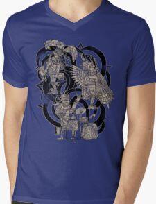 Ancient Jazztecs Mens V-Neck T-Shirt