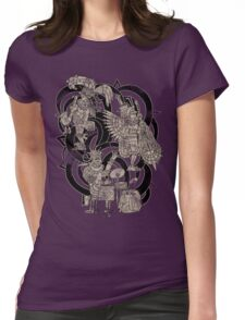 Ancient Jazztecs Womens Fitted T-Shirt