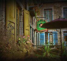 The Purple Umbrella by jules572