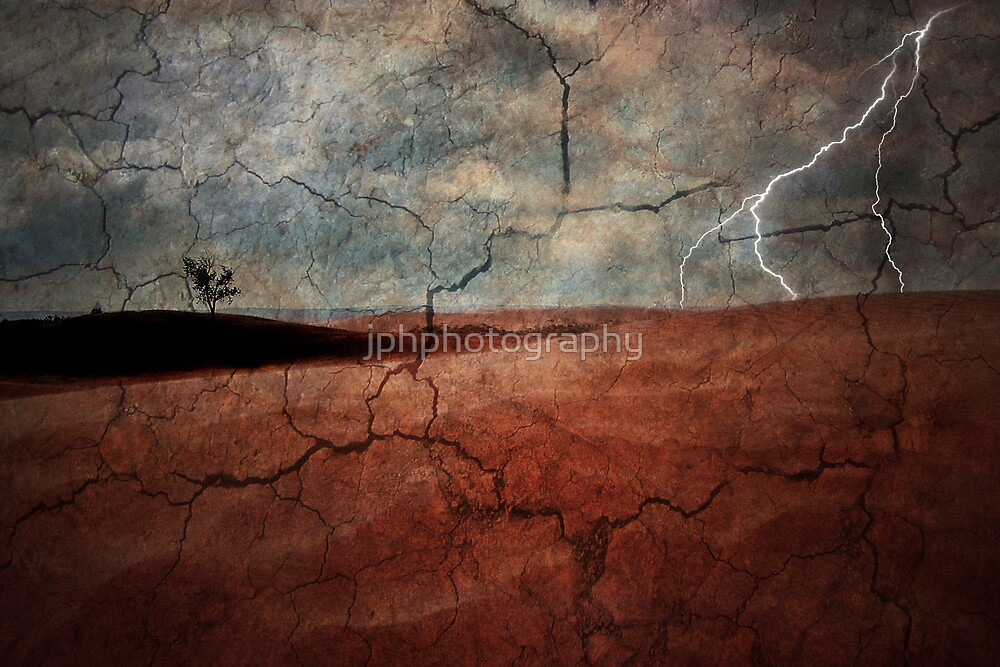 Wastelands Lightning by jphphotography