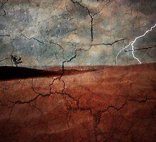 Wastelands Lightning by jphphotography