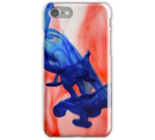 Red & Blue Water iPhone Case/Skin