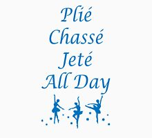 Plie Chasse Jete All Day Blue Women's Tank Top