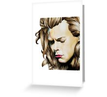 Harry Styles One Direction p Greeting Card