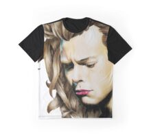 Harry Styles One Direction portrait Graphic T-Shirt
