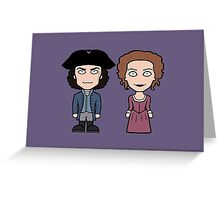 Ross and Demelza Greeting Card
