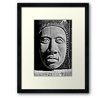 Aztec Man Framed Print