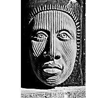Aztec Man Photographic Print