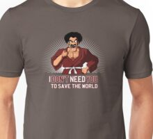 Mister Satan save the World Unisex T-Shirt