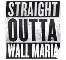 Straight Outta Wall Maria Poster