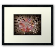 Dancing with the sky Framed Print