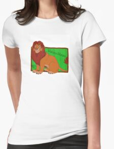 King Simba Womens Fitted T-Shirt