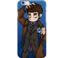 Doctor Who - Tenth Doctor  iPhone Case/Skin
