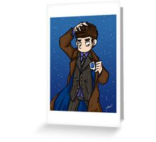 Doctor Who - Tenth Doctor  Greeting Card