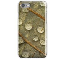 Water on Leaf iPhone Case/Skin