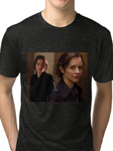 "Person of Interest ""Root & Shaw"" (Photo) Tri-blend T-Shirt"