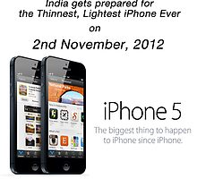 iPhone 5 launches in India by meenakshirastog