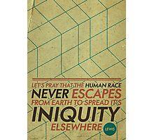 Humanity. Lewis. Photographic Print