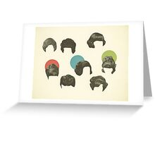 Hair Today, Gone Tomorrow Greeting Card