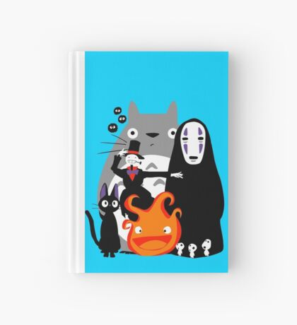 Ghibli'd Away Hardcover Journal