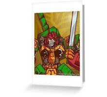 Bludgeon (Transformers) Greeting Card