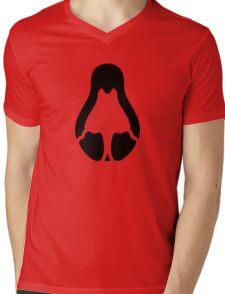 Stycil Tux (black) Mens V-Neck T-Shirt