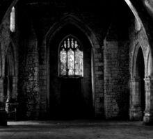Gothic Hall  Sticker