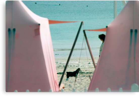 Brittany Beach by Flo Smith
