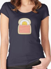 bed and breakfast Women's Fitted Scoop T-Shirt